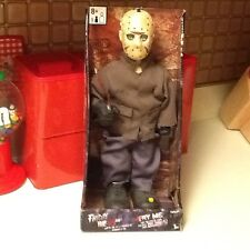 "2010 Animated Jason Friday The 13th Talking Musical 14"" Action Figure Horror"