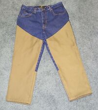 RED HEAD Men's Blue/Tan Cotton / Polyester Hunting Pants Jeans 32 x 30 NEW WO/TG