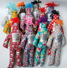 "NEW Random Pattern Color Stress Relief 12"" Dammit Doll Plush toy"