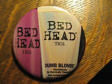 Bed Head TIGI Dumb Blonde Hair Conditioner Advertisement Pocket Lipstick Mirror