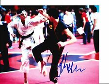 KARATE KID RALPH MACCHIO SIGNED ON THE MAT 8X10