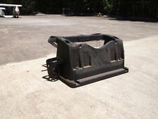 GOLF CART , BUGGY , CAR CLUB CAR PRECEDENT REAR SEAT SUPPORT AND BASKET USED