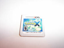 Pokemon X (Nintendo 3DS) XL 2DS Game