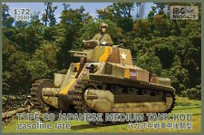 IBG 1/72 Kit Modélisme 72040 TYPE-89 Japanese Medium tank KOU - Gasoline