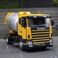DIE CAST METAL 1/43 SCANIA CONCRETE CEMENT MIXER TRUCK MODEL VEHICLE REPLICA
