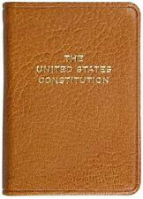 US CONSTITUTION & OTHER DOCUMENTS ~ POCKET LEATHERBOUND GIFT ED ~ GILT EDGED NEW