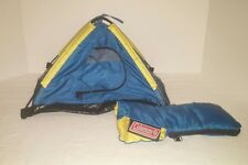 Coleman Sleeping Bag Display Mini Small Tent Barbie Ken Doll Size Toy Salesman