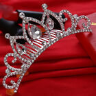 New Wedding Bridal Prom Rhinestone Crystal Hair Pin Comb Crown Headband Tiara