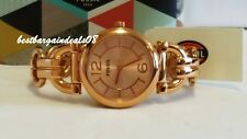 FOSSIL BQ1602 D-LINK ROSE GOLD WOMEN's WATCH