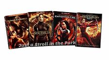 The Hunger Games - Complete Series Catching Fire Mockingjay Part 1 & 2 DVD Sets