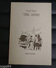 Tre anni – Anton Cecov – Prima edizione Mondadori 1960