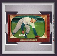1955 Bowman BILL KLAUS #150 NM-MT *stunning card for your set* M40C