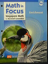 Math in Focus Singapore Math Grade Level 4 Enrichment Book A (2011, Paperback)