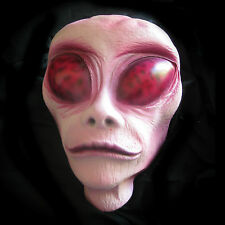 Lifesize Alien Head Haunted House Halloween Party Decoration Prop 10""