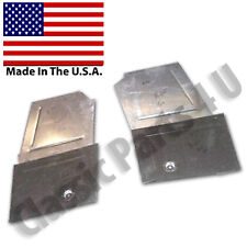 FRONT FLOOR PANS & TOE BOARDS CHEVROLET CHEVY OLDSMOBILE PONTIAC1941-48 NEW PAIR