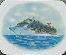 Mouse Pad...ms CARNIVAL DREAM... cruise ship...Original Art Work