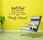 wall stickers love overflow Family Quote Removable Art Vinyl Decor Home decal Au
