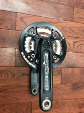 Race Face Diabolus DH Crank W/bash guard BRAND NEW OLD STOCK 170mm Black