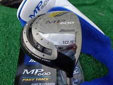 Mizuno Golf MP 600 10.5 Degree 460 Driver Fast Track Fujikura Stiff Flex NEW RH