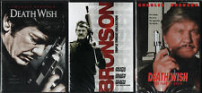 DEATH WISH 1-2-3-4-5: The Complete Series- Charles Bronson Classics- NEW 3 DVD's
