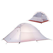 Naturehike Outdoor 2 Person Tent Ultralight Camping Tent Silicone Tent Gray