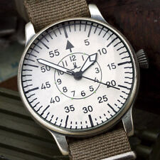 Ww2 military Aviator Laco B-Uhr beobachtungsuhr fuerza aérea natostrap 42mm