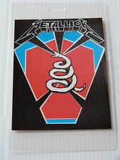 METALLICA Laminated Backstage Tour Pass - Black Album Tour