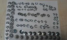 NEW 120 Piece Speed Nut & Thread Cutting Nut Variety Package * FREE SHIPPING*
