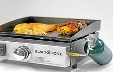 """Gas Griddle Portable Stove Flat Top Camp 17"""" Blackstone Table Grill/Griddle Prep"""