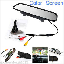 """4.3"""" PAL/NTSC Format LCD Color Monitor Screen For Autos Reverse Rearview Camera"""