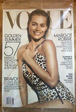 New Vogue June 2016 Morgot Robbie Cover Sealed Golden Summer Baz Luhrmann
