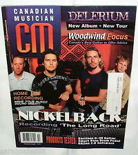 2003 CANADIAN MUSICIAN Magazine: NICKELBACK, Home Recording, Woodwinds, Delerium