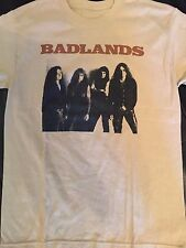 Badlands Jake E Lee Tour Shirt Sz S Hard Rock Ozzy Metal Tesla Red Dragon Cartel