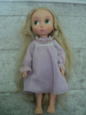 "Disney Store 16"" Animator Toddler 1st Edition Tinsel Hair Rapunzel Doll Tangled"