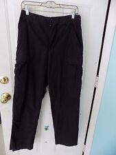 Genuine Gear Black Ripstop Pants Tactical Police Trouser Combat C26 SIZE S MEN'S