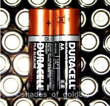 60 Duracell CopperTop AA Alkaline Batteries with Duralock (MN1500, LR6)