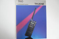 KENWOOD TH-205E (GENUINE LEAFLET ONLY)..........RADIO_TRADER_IRELAND.
