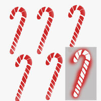 Candy cane stencil, Christmas art craft window display decoration paint Stencils