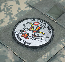 NTM NATO TIGER MEET PATCH COLLECTIONS: NTM 2011 Mini Tiger Meet Skiing Tiger