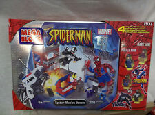 Marvel Spider-Man Mega Bloks - unopened tin Spider-Man vs. Venom