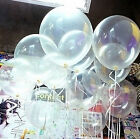Wholesale 10/20/100 Transparent Latex Balloons Birthday Wedding Party Decor 10