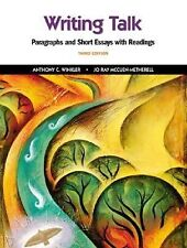 Writing Talk: Paragraphs and Short Essays w/ Readings, 3e - BRAND NEW!!
