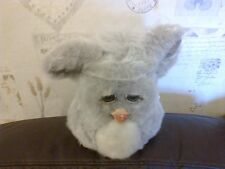 VINTAGE FURBY 2005 HASBRO GREY AND WHITE NOT WORKING OR REPAIRS