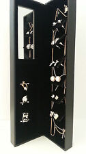 PIERRE CARDIN SILVER & GOLD 3 X NECKLACE & 6 X EARRING LADIES JEWELLERY GIFT SET