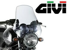 Bulle pare-brise universel GIVI A660 2 points 42,5 x 42 moto fixation naked NEUF