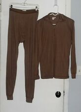 PECKHAM ECWCS Gen II Level 1 Shirt &  Drawers Set Size Medium Coyote Brown