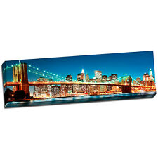New York 2 Landscape Wall Art on Wrapped Canvas Framed and Ready to Hang
