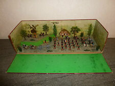 TRES RARE DIORAMA ANCIEN CBG MIGNOT TAILLE 1 - DEBUT 1900 - ATTACHES D ORIGINE