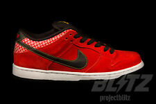 Nike Dunk Low Premium SB FIRECRACKER Size 9 CHALLENGE RED 313170-602
