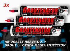 3X-GROUTENATOR for Grout & Mortar Grout Float replacement empty caulk tube SALE!